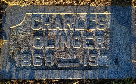 OLINGER, CHARLES - Linn County, Iowa | CHARLES OLINGER