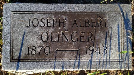 OLINGER, JOSEPH ALBERT - Linn County, Iowa | JOSEPH ALBERT OLINGER