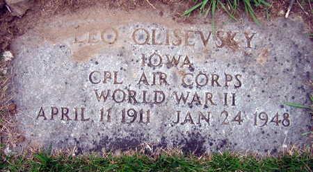 OLISEVSKY, LEO - Linn County, Iowa | LEO OLISEVSKY