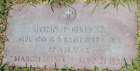 OLIVER, JOHN P. - Linn County, Iowa | JOHN P. OLIVER