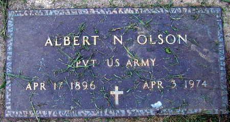 OLSON, ALBERT N. - Linn County, Iowa | ALBERT N. OLSON