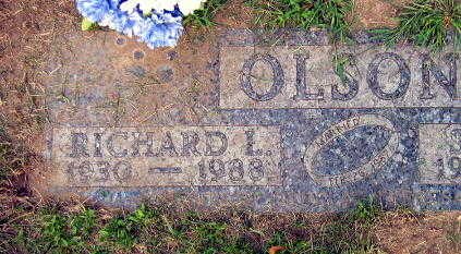 OLSON, RICHARD I. - Linn County, Iowa | RICHARD I. OLSON