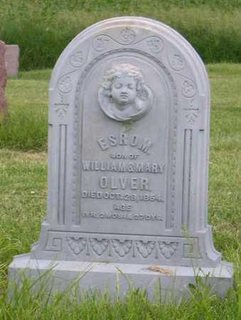 OLVER, ESROM - Linn County, Iowa   ESROM OLVER