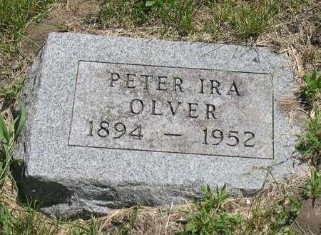 OLVER, PETER IRA - Linn County, Iowa   PETER IRA OLVER