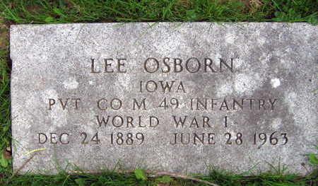 OSBORN, LEE E. - Linn County, Iowa | LEE E. OSBORN
