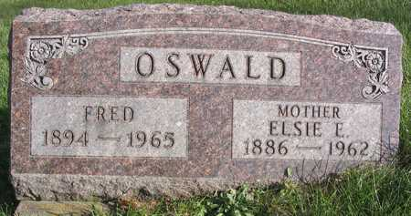 OSWALD, FRED - Linn County, Iowa | FRED OSWALD