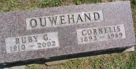 OUWEHAND, RUBY G. - Linn County, Iowa | RUBY G. OUWEHAND