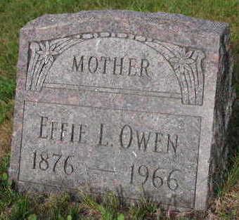 OWEN, EFFIE L. - Linn County, Iowa | EFFIE L. OWEN