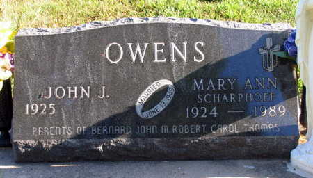 OWENS, MARYANN - Linn County, Iowa | MARYANN OWENS