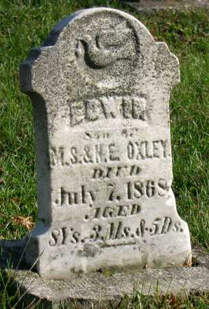 OXLEY, EDWIN - Linn County, Iowa | EDWIN OXLEY
