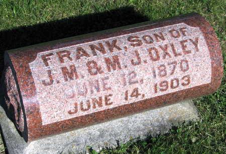 OXLEY, FRANK - Linn County, Iowa | FRANK OXLEY