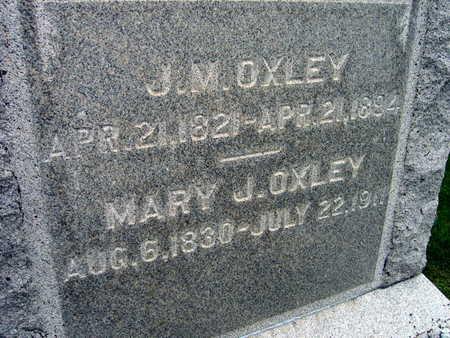 OXLEY, J. M. - Linn County, Iowa | J. M. OXLEY