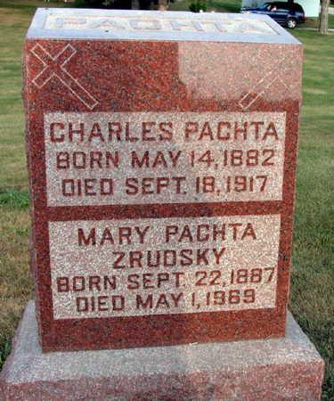 PACHTA, CHARLES - Linn County, Iowa   CHARLES PACHTA