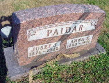 PAIDAR, JOSEF J. - Linn County, Iowa   JOSEF J. PAIDAR