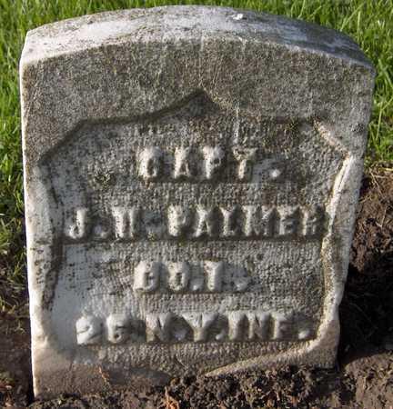PALMER, CAPT. J.H. - Linn County, Iowa | CAPT. J.H. PALMER