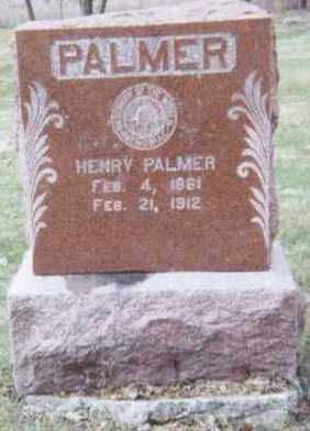 PALMER, HENRY - Linn County, Iowa   HENRY PALMER