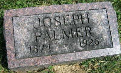 PALMER, JOSEPH - Linn County, Iowa | JOSEPH PALMER