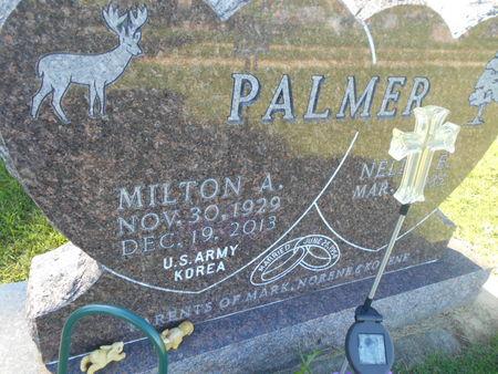 PALMER, MILTON A. - Linn County, Iowa | MILTON A. PALMER