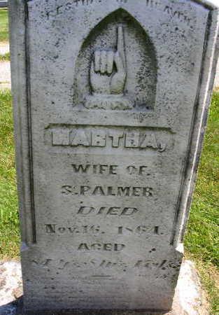 PALMER, MARTHA - Linn County, Iowa | MARTHA PALMER