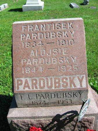 PARDUBSKY, F. L. - Linn County, Iowa | F. L. PARDUBSKY