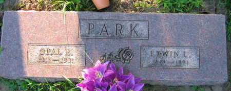 PARK, OPAL E. - Linn County, Iowa | OPAL E. PARK