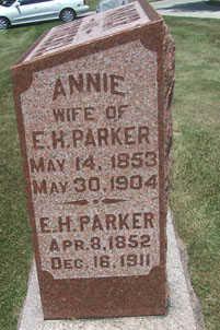 PARKER, ANNIE - Linn County, Iowa | ANNIE PARKER