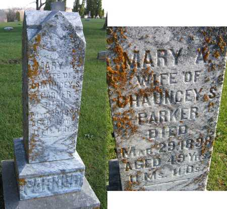 PARKER, MARY A. - Linn County, Iowa | MARY A. PARKER