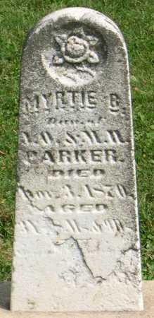 PARKER, MYRTIE B. - Linn County, Iowa | MYRTIE B. PARKER