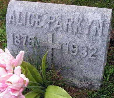 PARKYN, ALICE - Linn County, Iowa | ALICE PARKYN