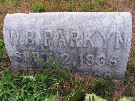 PARKYN, W.B. - Linn County, Iowa | W.B. PARKYN