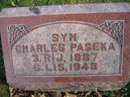 PASEKA, CHARLES - Linn County, Iowa | CHARLES PASEKA