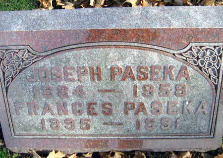 PASEKA, FRANCES - Linn County, Iowa | FRANCES PASEKA