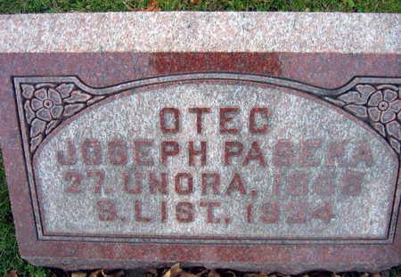 PASEKA, JOSEPH - Linn County, Iowa   JOSEPH PASEKA