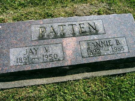 PATTEN, FANNIE B. - Linn County, Iowa | FANNIE B. PATTEN