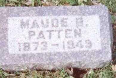 PATTEN, MAUDE B. - Linn County, Iowa | MAUDE B. PATTEN