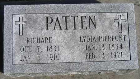 PATTEN, LYDIA - Linn County, Iowa | LYDIA PATTEN