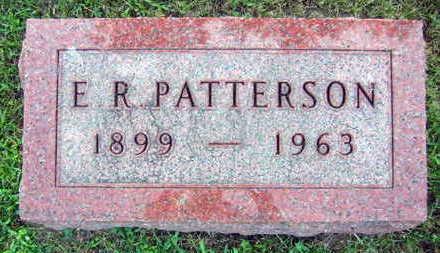 PATTERSON, E. R. - Linn County, Iowa | E. R. PATTERSON
