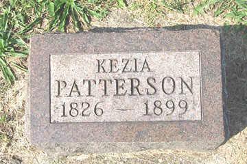 PATTERSON, KEZIA - Linn County, Iowa | KEZIA PATTERSON
