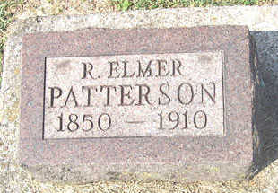 PATTERSON, R. ELMER - Linn County, Iowa | R. ELMER PATTERSON