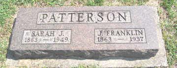 PATTERSON, J. FRANKLIN - Linn County, Iowa | J. FRANKLIN PATTERSON