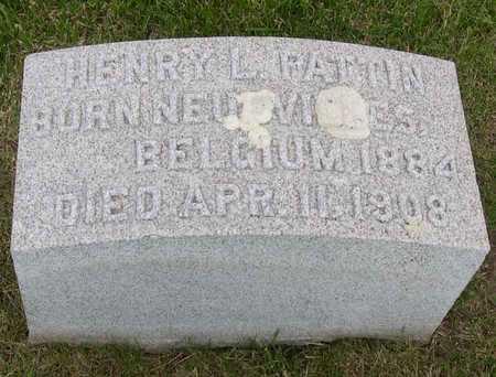PATTIN, HENRY L. - Linn County, Iowa | HENRY L. PATTIN