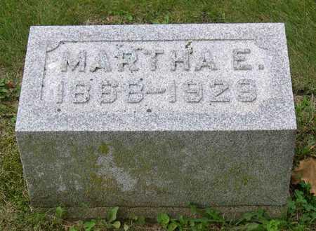 PATTON, MARTHA E. - Linn County, Iowa | MARTHA E. PATTON