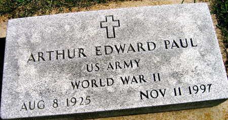 PAUL, ARTHUR EDWARD - Linn County, Iowa | ARTHUR EDWARD PAUL
