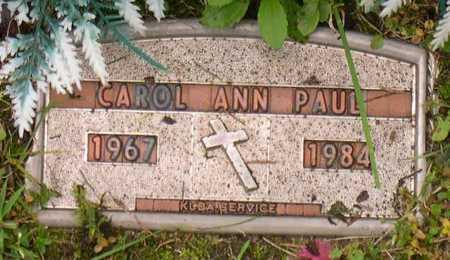 PAUL, CAROL ANN - Linn County, Iowa | CAROL ANN PAUL