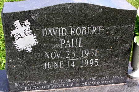 PAUL, DAVID ROBERT - Linn County, Iowa | DAVID ROBERT PAUL