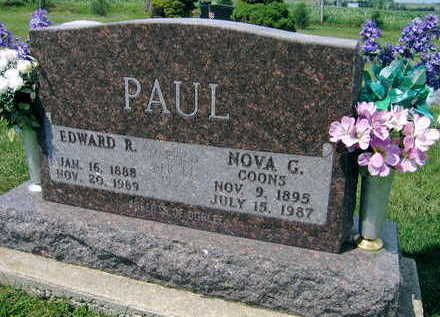PAUL, NOVA G. - Linn County, Iowa | NOVA G. PAUL