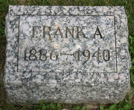 PAUL, FRANK A. - Linn County, Iowa | FRANK A. PAUL