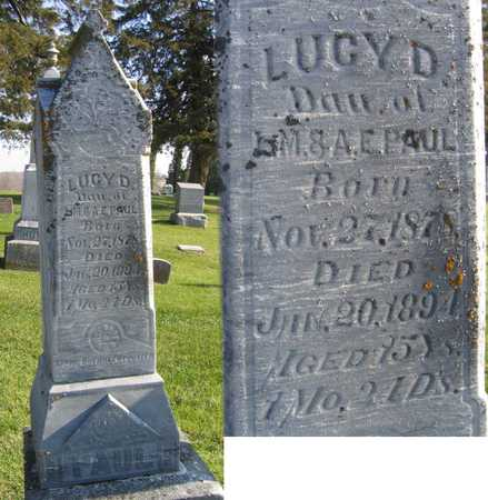 PAUL, LUCY D. - Linn County, Iowa | LUCY D. PAUL