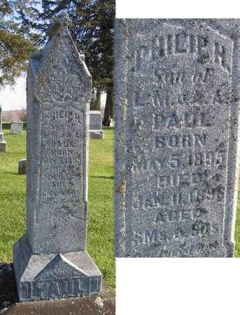 PAUL, PHILIP H. - Linn County, Iowa | PHILIP H. PAUL
