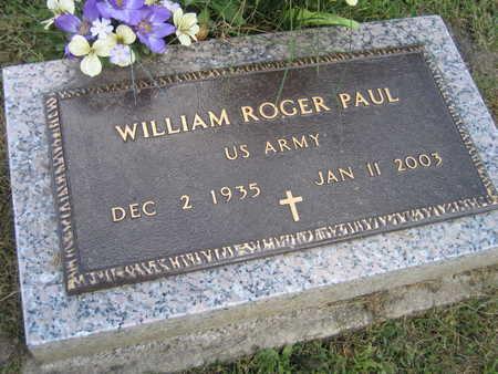 PAUL, WILLIAM ROGER - Linn County, Iowa | WILLIAM ROGER PAUL